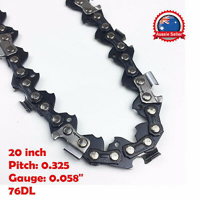 Best to Buy New 20inch Chain Saw Chain .058 Gauge 76DL Replacement
