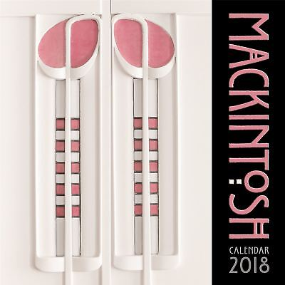 Charles Rennie Mackintosh Official 2018 Square Wall Calendar