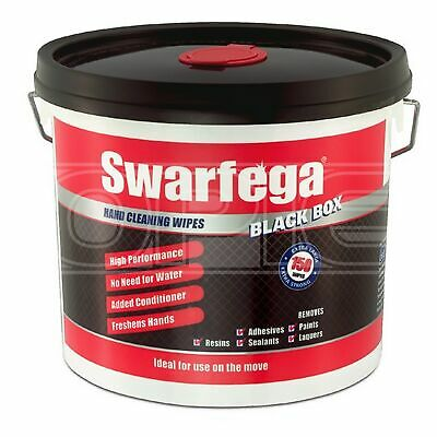 Swarfega Heavy-Duty Wipes for Paints & Resins - Tub of 150 (SBB150W)