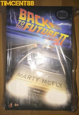 Hot Toys MMS 379 Back To The Future II 2 Marty McFly Michael J Fox Normal Ver