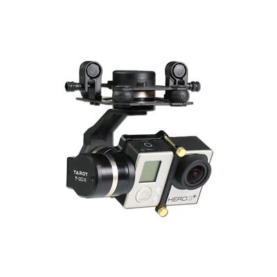 Tarot GOPRO 3D Metal CNC 3 Axis Brushless Gimbal PTZ for GOPRO 4 3+ 3 FPV Quadco