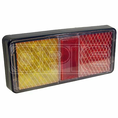 Maypole 12/24V LED Rear Rectangular Combination Lamp (MP861)