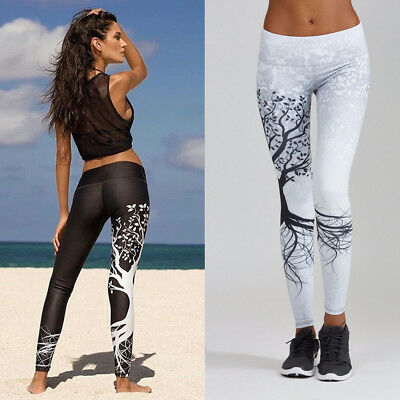 Women Fitness YOGA Gym Sports Leggings Running Pants Stretch Workout Trouser Hot