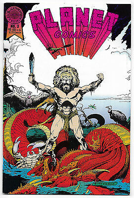 Planet Comics #3 (Nov 1988, Blackthorne Publishing) William Stout Cover