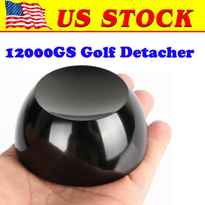 12000GS Magnetic golf detacher universal security tag remover  EAS System ,Black