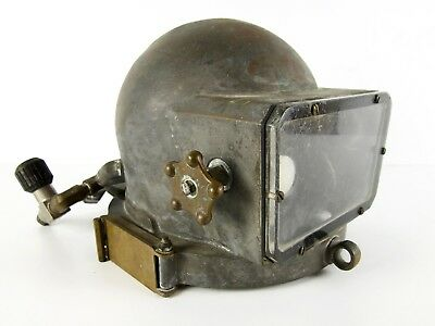 Vtg Desco Commercial Diving Helmet