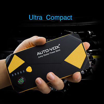 Auto-Vox 14000mAh Car Jump Starter Booster Charger Battery USB Power Bank Pack