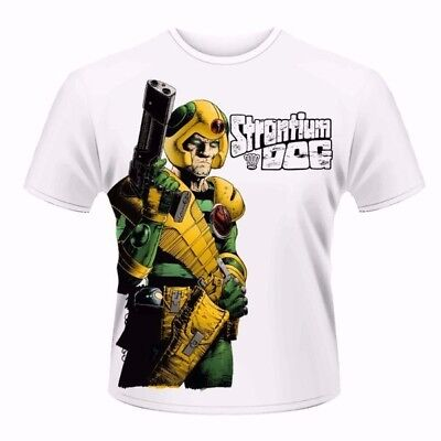 2000Ad Stronti Dog T Shirt, New Official, Adult Sizes M