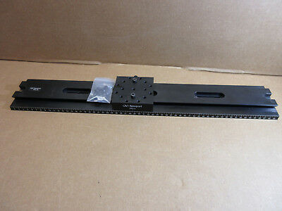 Newport PRL-24 Precision Optical Rail w/ PRC-3 Rail Carrier   M15