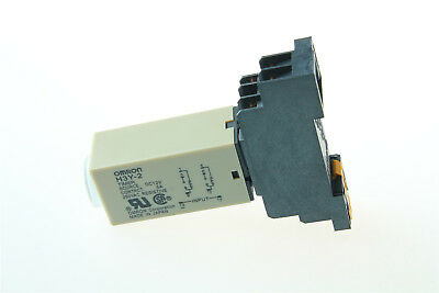 DC 12V 0-30S Second Timer Time Relay H3Y-2 Delay W/ Base Socket