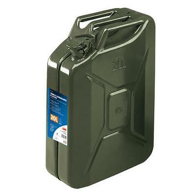 Lampa 67000 - Tanica carburante tipo militare in metallo - 20 L