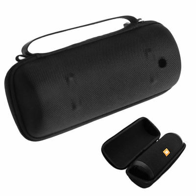 Portable Zipper Travel Hard Case Bag Box For JBL Flip 3 Bluetooth Speaker Black