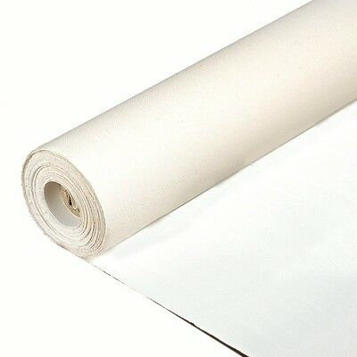 "Sunbelt Mfg. Co. Primed Cotton/poly portrait Canvas Roll  6 yds x 12"" wide."