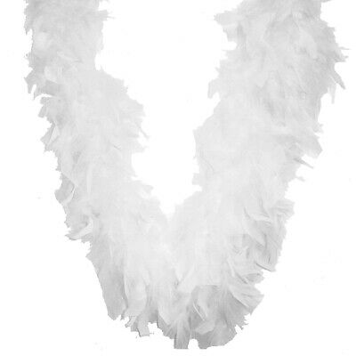 "Chandelle Feather Boa 72""-White, Midwest Design,Part MD3000-38011"