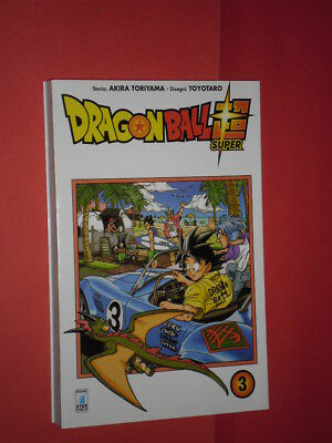 DRAGON BALL- SUPER- N°3- DI:AKIRA TORIYAMA- MANGA STAR COMICS- nuovo