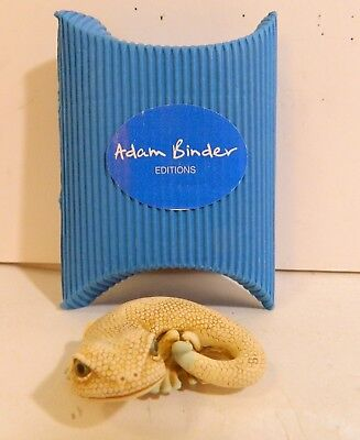 Adam Binder - Charm, Nesuke Or Pendent - Lizard - New In Box - Retired