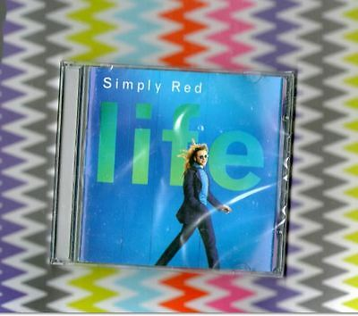 """SIMPLY RED New Sealed """"LIFE"""" CD +Fairground/So Beautiful/You Make Me Believe"""