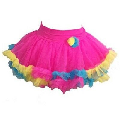 Jona Michelle Girls Bright Pink Toddler Tutu Skirt Choose Size NWT
