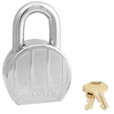 Master Lock Industrial High Security Chrome-Plated Zinc Padlock, 230DPF