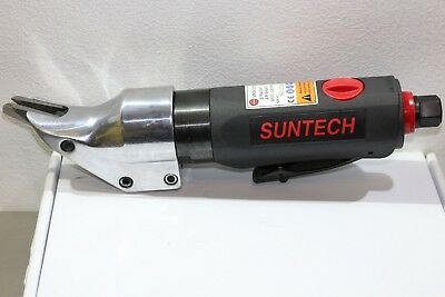 Suntech Straight Pneumatic Air Metal Steel Shear Cutter Snip Rubber Comfort Grip