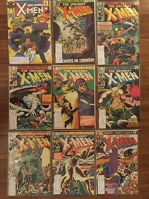 The Uncanny X-Men  comics -1, 120, 133, 140, 142, 144, 145, 147, 148