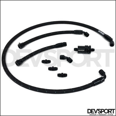 Devsport K Swap Tucked Fuel Line Kit