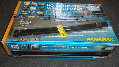 Panamax MR4000 8-Outlets Surge Protector Home Theater Power Line Management