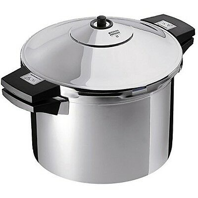 Kuhn Rikon 3043 Stainless Steel Pressure Cooker/ 6.3 quart  (6 L) Stockpot - NEW