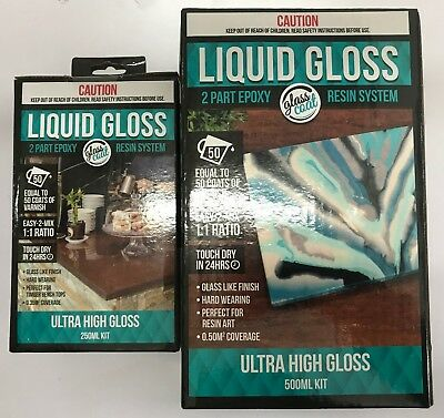 Craft Smart Liquid Gloss - Two Part Epoxy Resin (2 Sizes Available)