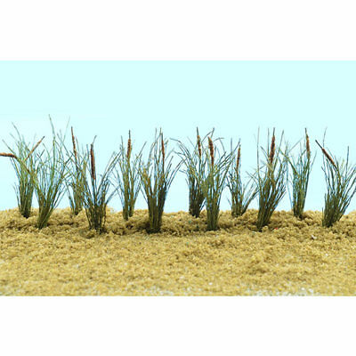 "JTT Miniature Tree - Cattails -- 1-1/2""  3.8cm Tall pkg(24) - O"