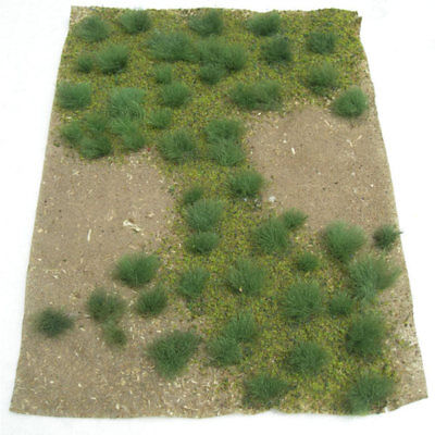 "JTT Miniature Tree-Green Grsland 5x7"" sheet"