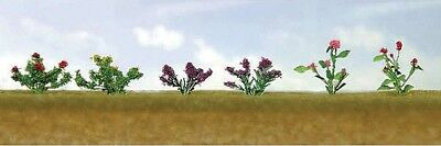 "JTT Scenery Products-Flowering Plants Assortment 1, 3/4"" (10)"