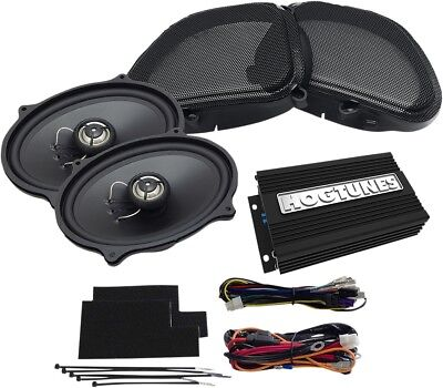 NEW HOGTUNES REV200RGKIT-AA Amp/Front Speaker Kits
