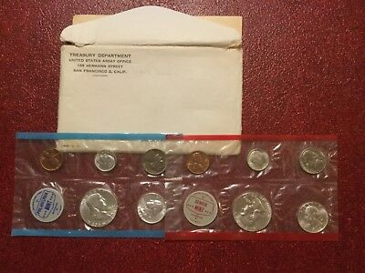 1962 Silver Uncirculated Mint Set