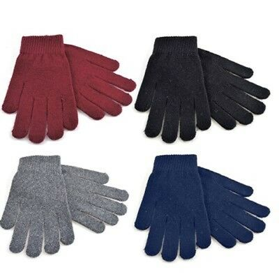 Girls/Ladies/Women Thermal Wool Mix Magic Winter High Quality One Size Glove UK