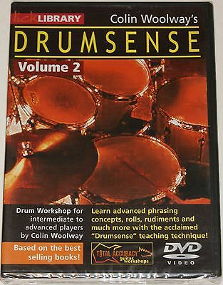 Lick Library Colin Woolway's Drumsense Vol.2 Drum Schlagzeug DVD Lernmethode