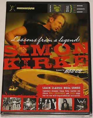 Simon Kirke Lessons from a legend Drum Schlagzeug DVD Lernmethode NEU NEW OVP