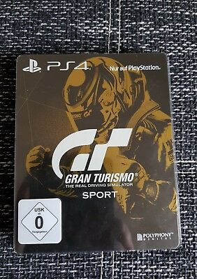 ps4 gt sport gran turismo sport g2 steelbook with smaller. Black Bedroom Furniture Sets. Home Design Ideas