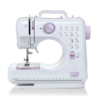 Multifunction Electric Overlock Sewing Machine Household Sewing Tool Set Pro US