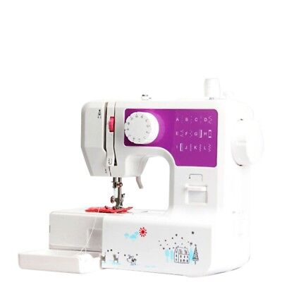 Multifunction Electric Overlock Sewing Machine Household Sewing Tool New Pro US