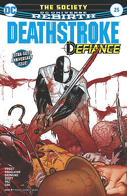 Deathstroke #25 (2017) 1St Printing Dc Universe Rebirth Bagged & Boarded