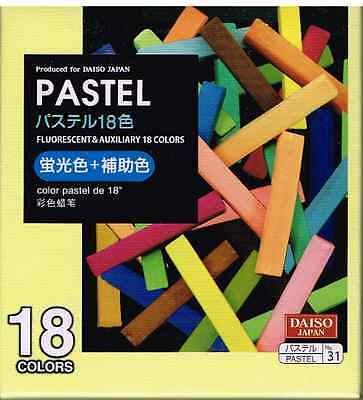 Pastel Fluorescent & Auxiliary 18 Colors ! From Japan