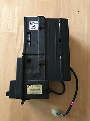 Ict A6 Bill Acceptor 12 Volts Genesis Go127/137,380 Combo Vending Machine,tested