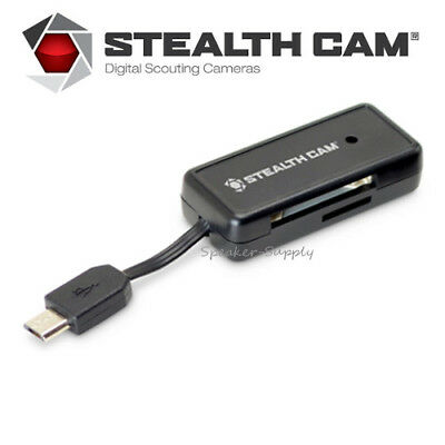 Stealth Cam Android Memory Card Reader for Trail Camera or Phone STC-SDCRAND