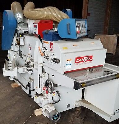 "Cantek GT-635 ARD, 25"" x 8"" Double Surface Planer, T & B, 2015, 50 Comb HP, 3PH"