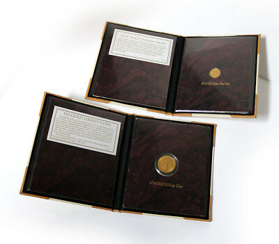 The American Historic Society, 1910 Indian Head Coin and 1907 Liberty Coin