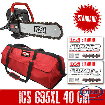 ICS Diamantkettensäge ICS 695XL 40cm Paket