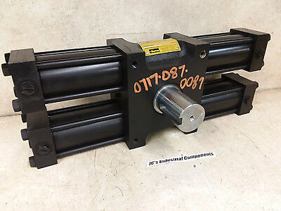 Parker,   Hydraulic Rotary Actuator,  Htr45-180-Ab11-C,  2000 Psi,  30,000 In Lb