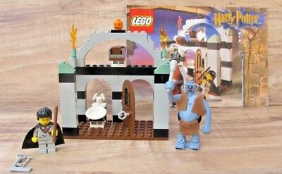 HARRY POTTER LEGO 4712 Troll on The Loose - 100% Complete + Manual - EUC