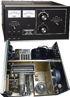 Ameritron AL-1500 1500W ++ HF HAM Linear Amplifier WITH Eimac TUBE ! Nice !
